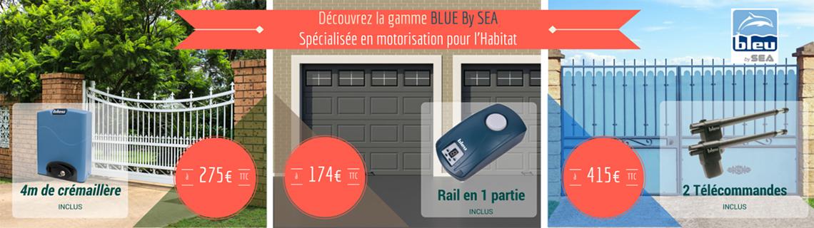 La gamme de motorisations pour l'Habitat BLUE BY SEA