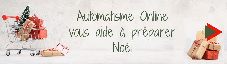 Automatisme Online vous aide à préparer Noël