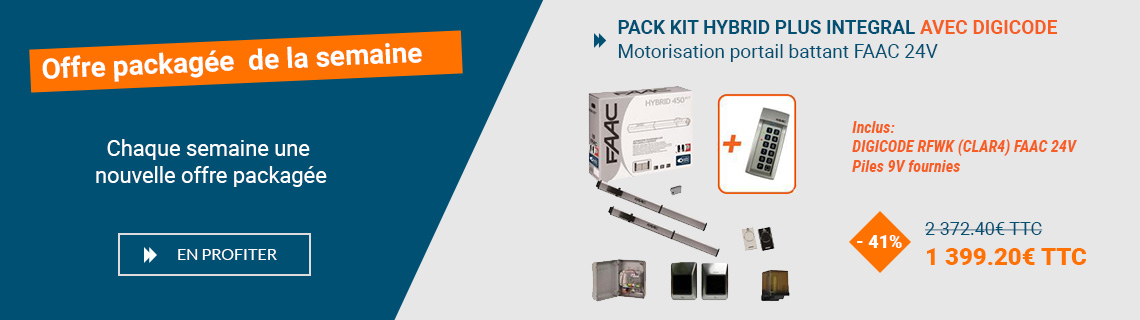 Offre packagee - PACK KIT HYBRID - sliding