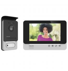 Interphone vidéo - Kit WelcomeEye DES 9700 VDP Touch Visiophone PHILIPS