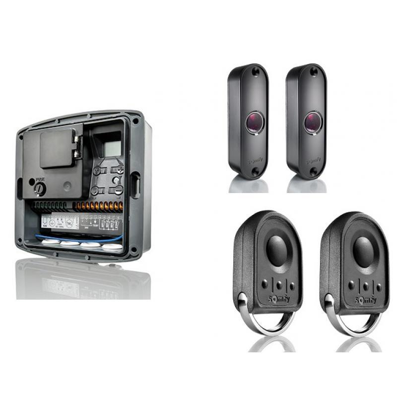 commande porte de garage free commande universelle pour porte de garage unique rcepteur radio. Black Bedroom Furniture Sets. Home Design Ideas