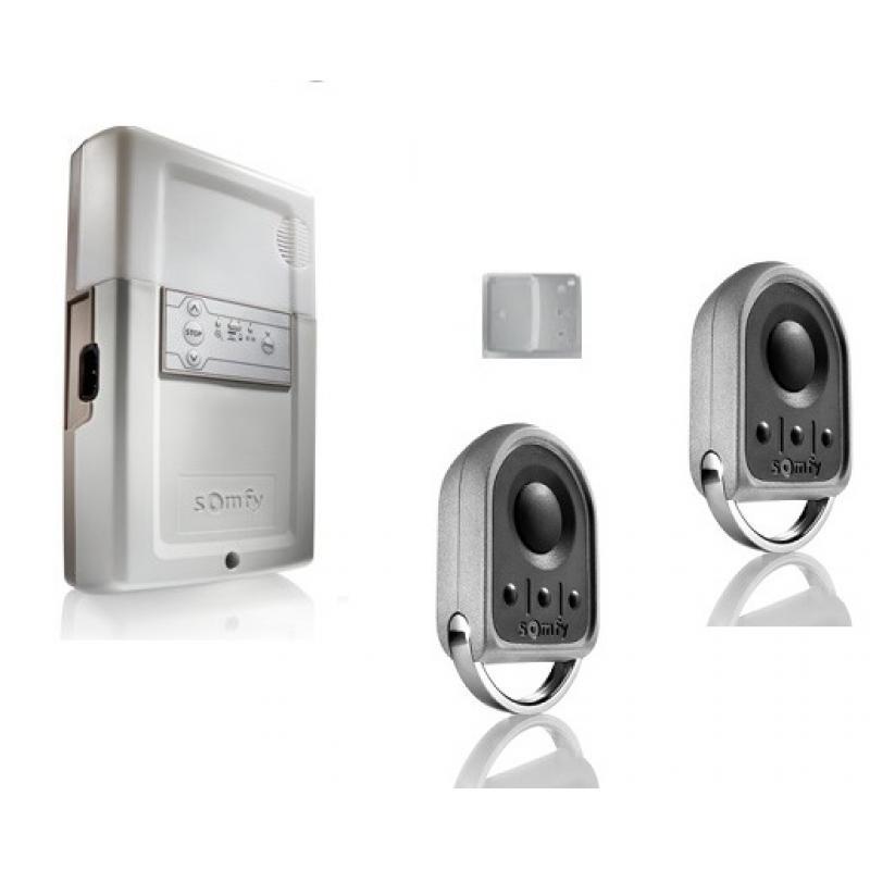 Pack standard rollixo io r cepteur avec bouton de commande for Commande porte de garage