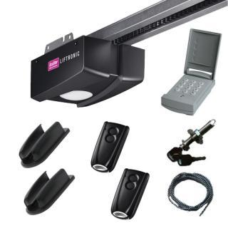 Pack liftronic 500 avec digicode 2 t l commandes avec for Porte garage ecostar
