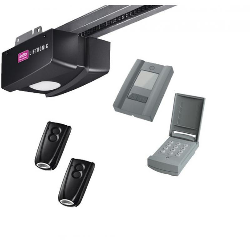 Liftronic 800 motorisation porte de garage ecostar motorisation pour porte de garage - Motorisation porte de garage sectionnelle ...