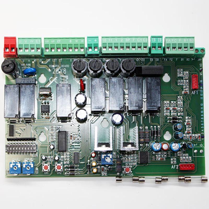 Zbx 8 Carte Electronique Sans Boitier Pour Portail Coulissant Came 230v Centrales De Commande Automatisme Online