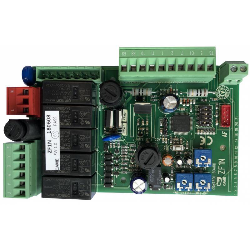 Zf1n Carte Electronique Sans Boitier Pour Portail Battant Came 230v Centrales De Commande Automatisme Online