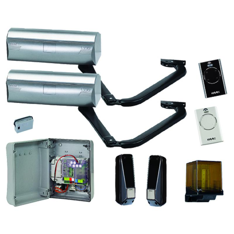 Motorisation de portail battant faac for Faac eco kit