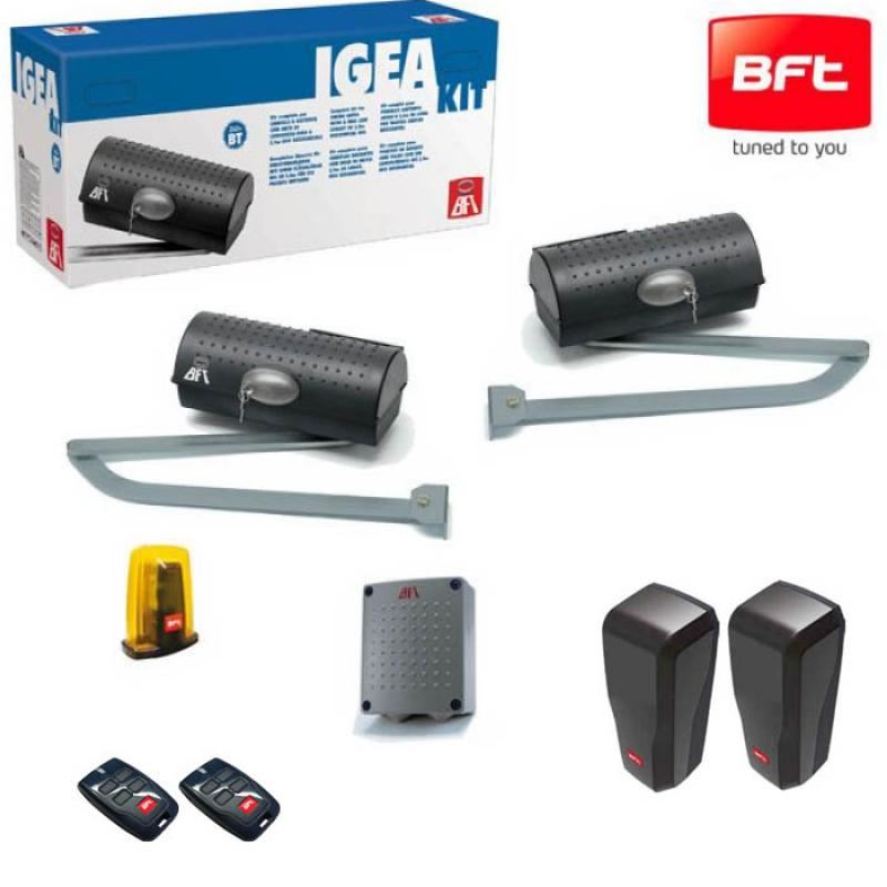 kit igea bt motorisation portail 2 battants bft. Black Bedroom Furniture Sets. Home Design Ideas