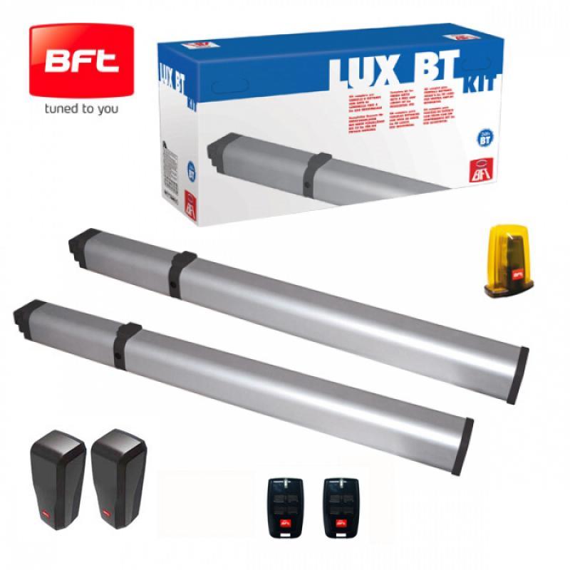 kit lux bt 2b motorisation portail 2 battants bft. Black Bedroom Furniture Sets. Home Design Ideas