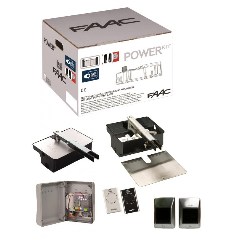 kit power plus integral motorisation portail battant faac 24v motorisation de portail battant. Black Bedroom Furniture Sets. Home Design Ideas