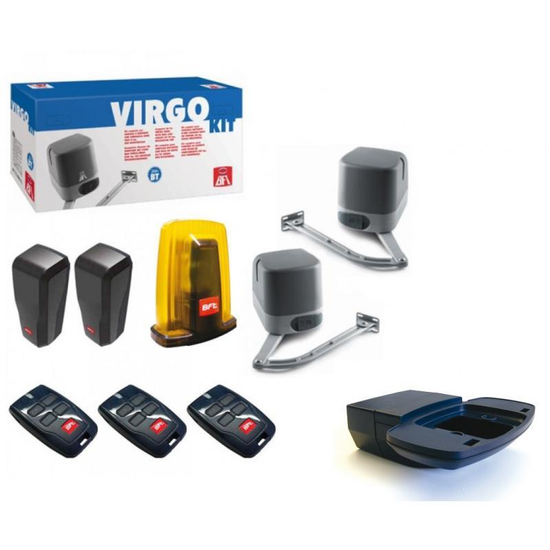 kit virgo motorisation portail 2 battants bft 24 v. Black Bedroom Furniture Sets. Home Design Ideas