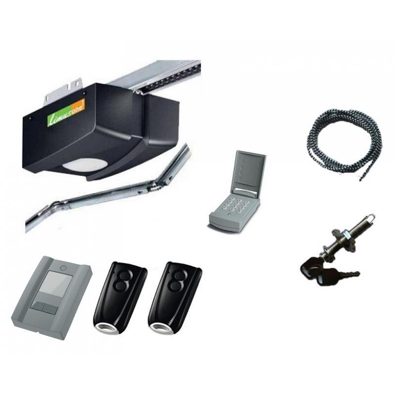 Pack limus one g70 avec digicode et d verrouillage for Digicode sans fil pour porte de garage
