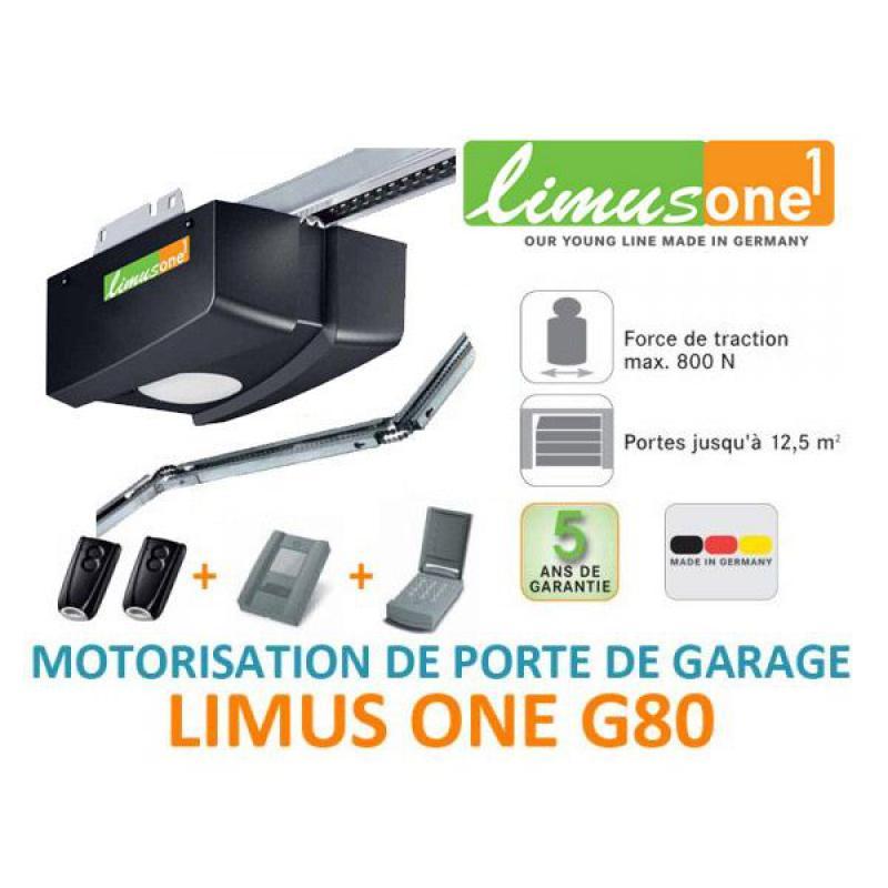 Limus one g80 motorisation porte de garage motorisation pour porte de garage sectionnelle ou - Motorisation porte de garage sectionnelle ...