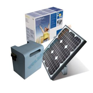 Alimentations solaires - SYKCE Kit d'alimentation solaire NICE
