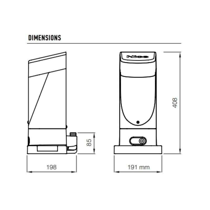 kit slight de nice motorisation de portail coulissant avec. Black Bedroom Furniture Sets. Home Design Ideas