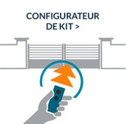 Kit leader plus integral sg motorisation portail battant for Automatisme de portail a roue