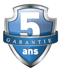 Garantie 5 ans Portes de garage FELDMANN