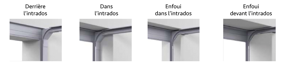variantes de montage portes FELDMANN par Automatisme-Online