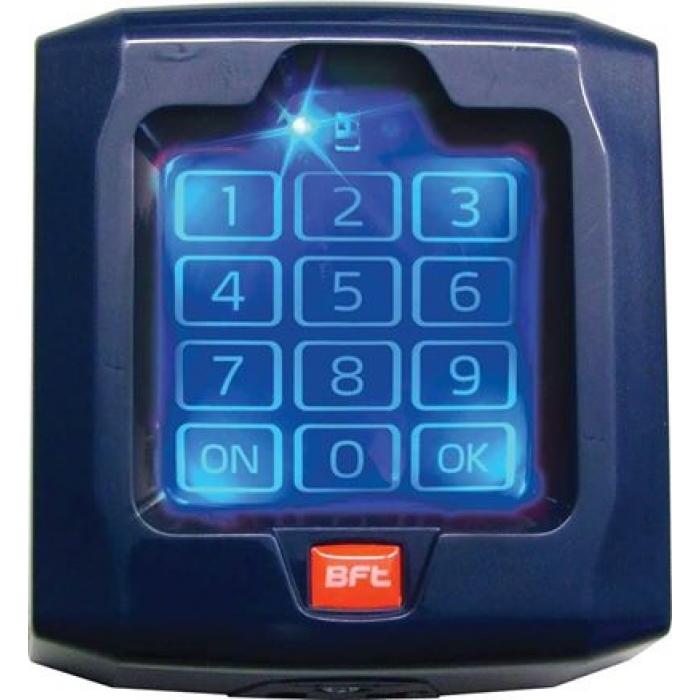 q bo touch digicode bft radio sans fil p121024 clavier num rique. Black Bedroom Furniture Sets. Home Design Ideas