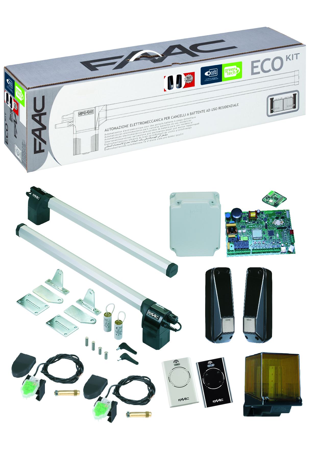 Portail electrique guide d 39 achat for Faac eco kit