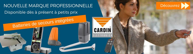 nouvelle marque professionnelle CARDIN